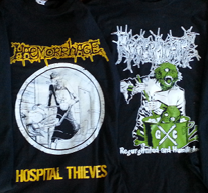 RESTOCKED!!! SHIRTS AND HAEMORRHAGE ZIPPER!!!
