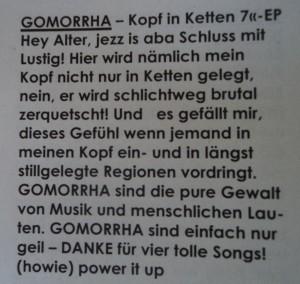 Trust Gomorrha