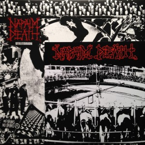 "Still Available Napalm Death – Utilitarian  2x 10"" + Bonus 7"""