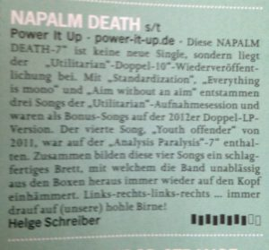 OX Napalm Death 2